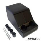 CUBBY BOX RAPTOR 4X4 BLACK
