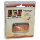 LeD SIDE LAMP YELLOW 12/24V 58x35x19