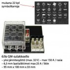 FUSE BOX FOR 6. GM FUSE