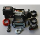 "TYREX 8000LB BLACK SERIE ""COMPACT"" WINCH WIRE"