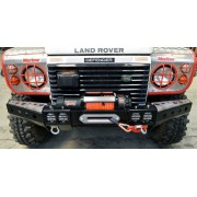 FRONT SQUARED WINCH BUMPER FOR DEFENDER ST STYLE