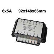 Voltage Regulator 6-chanel 24v. to 12v.