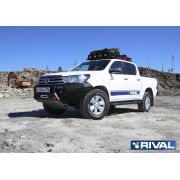 Hilux Revo Front Bumber With Worklamps
