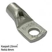Kaapelikenkä puristettava 25mm2 -8
