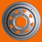 HD STEEL WHEEL ET -10 6.5X15 SILVER FOR SUZUKI