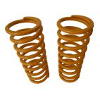 FRONT SPRINGS, PAIR +5cm, YELLOW, Land Rover