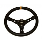 "RAPTOR 4X4 BY TYREX SPORT STEERING WHEEL 14"" IN LEATHER"